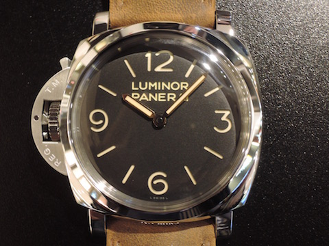 LUMINOR 1950 LEFT-HANDED 3 DAYS ACCIAIO