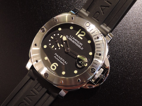 LUMINOR SUBMERSIBLE AUTOMATIC ACCIAIO
