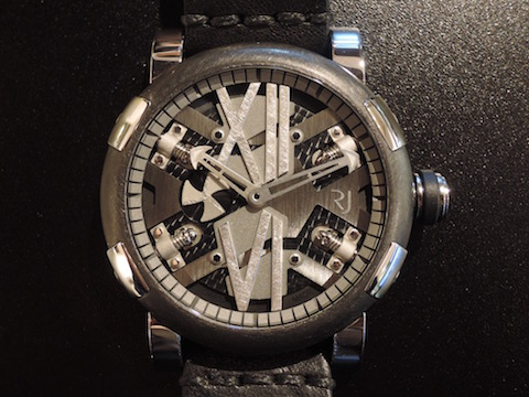 STEAMPUNK  AUTOMATIC 46 STEEL GUNMETAL