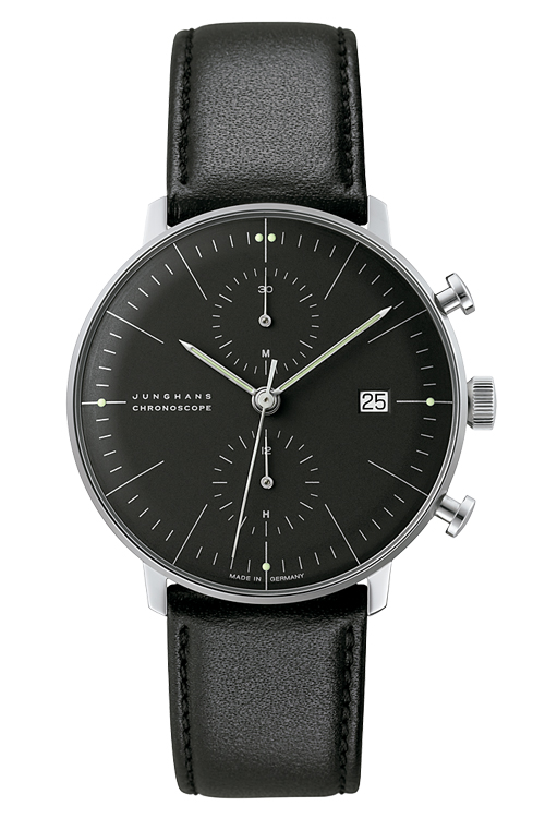 Max Bill by Junghans Chronoscope