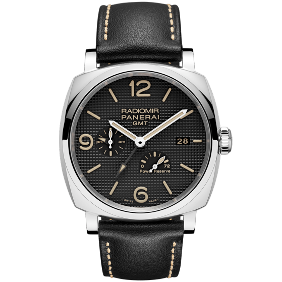 RADIOMIR 1940 3 DAYS GMT POWER RESERVE AUTOMATIC ACCIAIO – 45MM