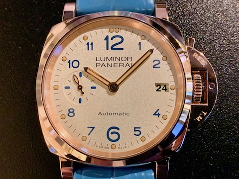 LUMINOR DUE 3 DAYS AUTOMATIC OROROSSO 38MM