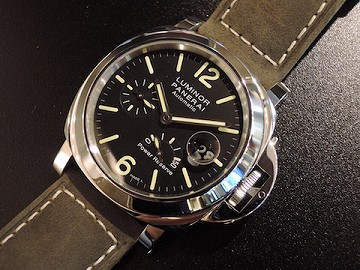 LUMINOR POWER RESERVE AUTOMATIC ACCIAIO