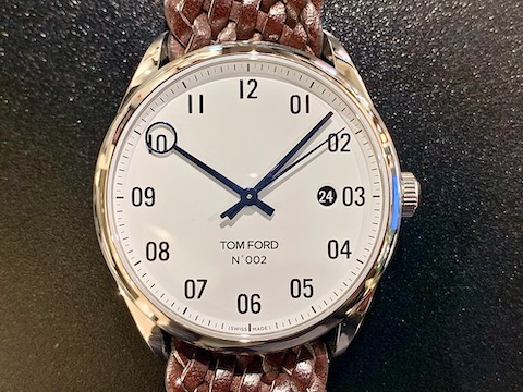 TOM FORD 002 004+ BRAIDED CALF LEATHER