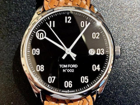TOM FORD 002 003+ BRAIDED CALF LEATHER