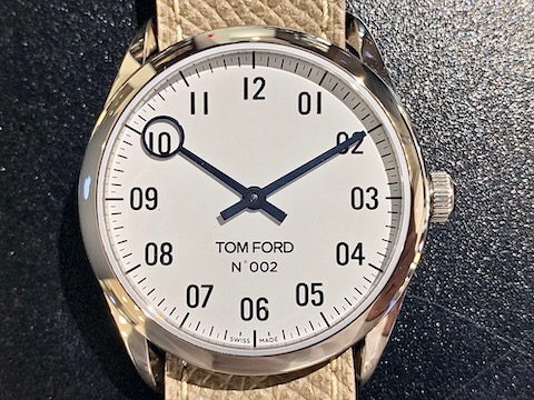 TOM FORD N.002 + PEBBLE GRAIN LEATHER
