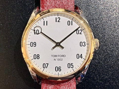 TOM FORD N.002 + PONY LEATHER