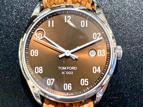 TOM FORD 002 + BRAIDED CALF LEATHER