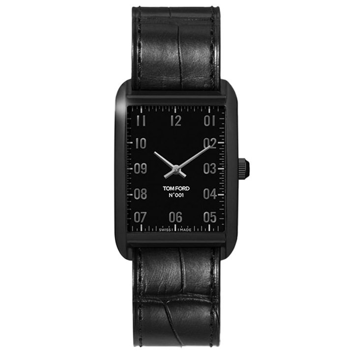 TOM FORD 001 006 STITCHED LEATHER STRAP