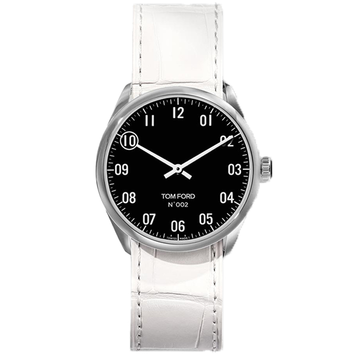 TOM FORD 002 007 STITCHED LEATHER STRAP