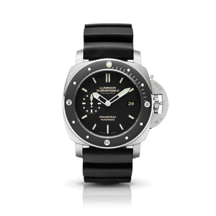 LUMINOR SUBMERSIBLE 1950 AMAGNETIC 3 DAYS AUTOMATIC TITANIO-47mm