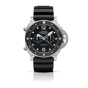 LUMINOR SUBMERSIBLE 1950 3 days CHRONO FLYBACK AUTOMATIC TITANIO - 47mm