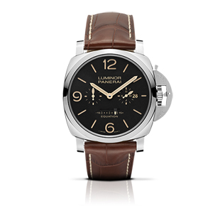 LUMINOR 1950 EQUATION OF TIME 8 DAYS ACCIAIO - 47mm