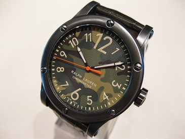 SPORTING SAFARI RL67 CHRONOMETER CAMO DIAL 45mm ※2015 New model