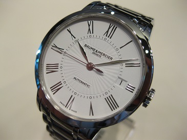 CLASSIMA STEEL AUTOMATIC WHITE DIAL 36.5mm ※2015 New model