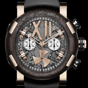 STEAMPUNK RED CHRONO